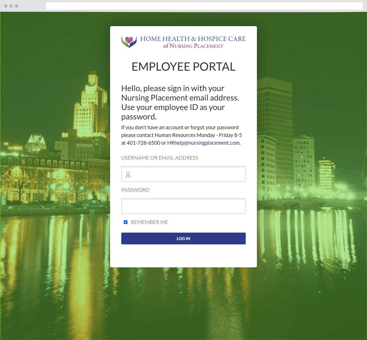 NP ePortal 05 WordPress Website Design